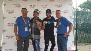 Ronny Sweger, Chris Wolfenbarger, and LOCASH